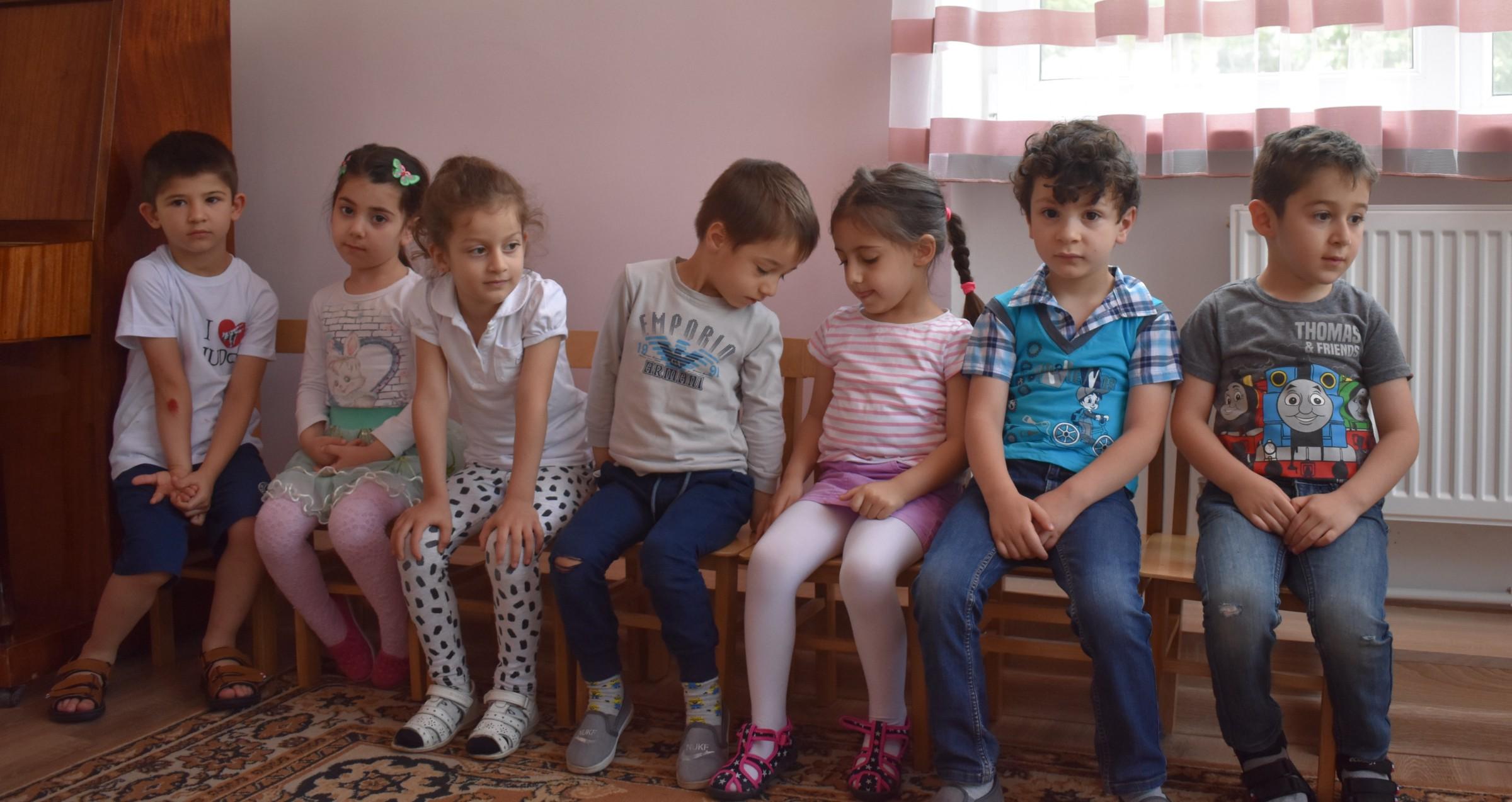 4 children at school