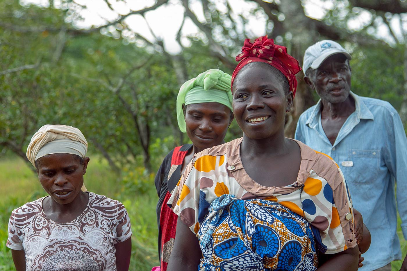 Charcoal farmers in Caputo